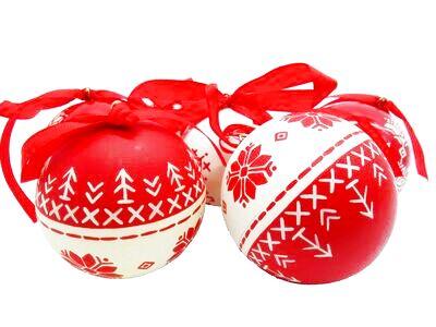 画像1: クリスマスボール(アルハンゲリスク) (1)