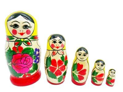 画像1: ロシアの女の子「黄×赤」 (1)