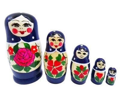 画像1: ロシアの女の子「深紫」 (1)