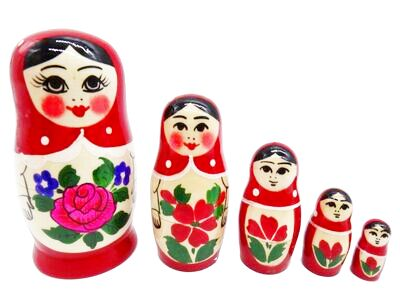 画像1: ロシアの女の子「赤」 (1)