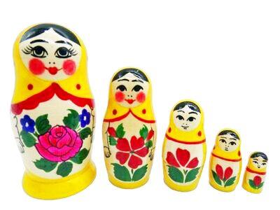 画像1: ロシアの女の子「黄」 (1)