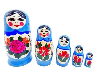 画像1: ロシアの女の子「水色」 (1)